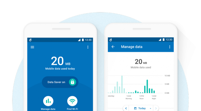 save mobile data with datally