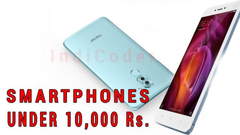 smartphones under 10000 rs