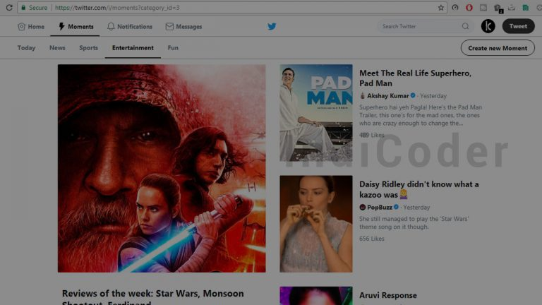 twitter moments india features