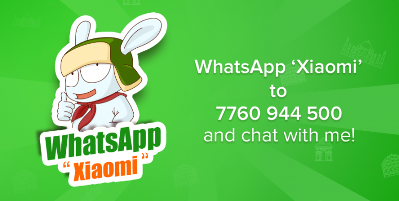 xiaomi whatsapp mi bunny whatsapp service