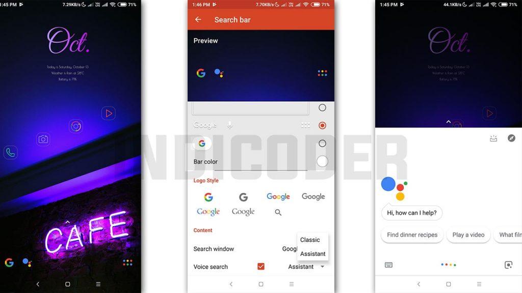 nova launcher google assistant beta update