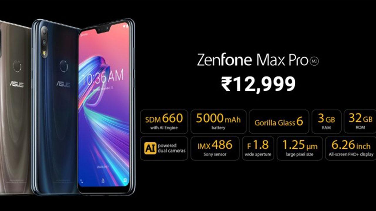 asus zenfone max pro m2 price vs realme 2 pro redmi note 6 pro