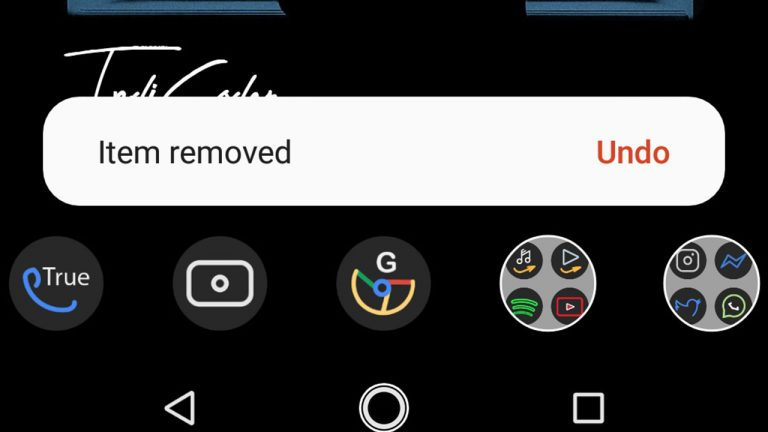 nova launcher android q feature undo homesceen
