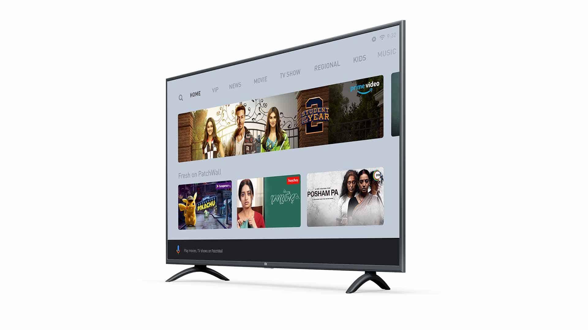 mi tv 4x 55 inch review netflix