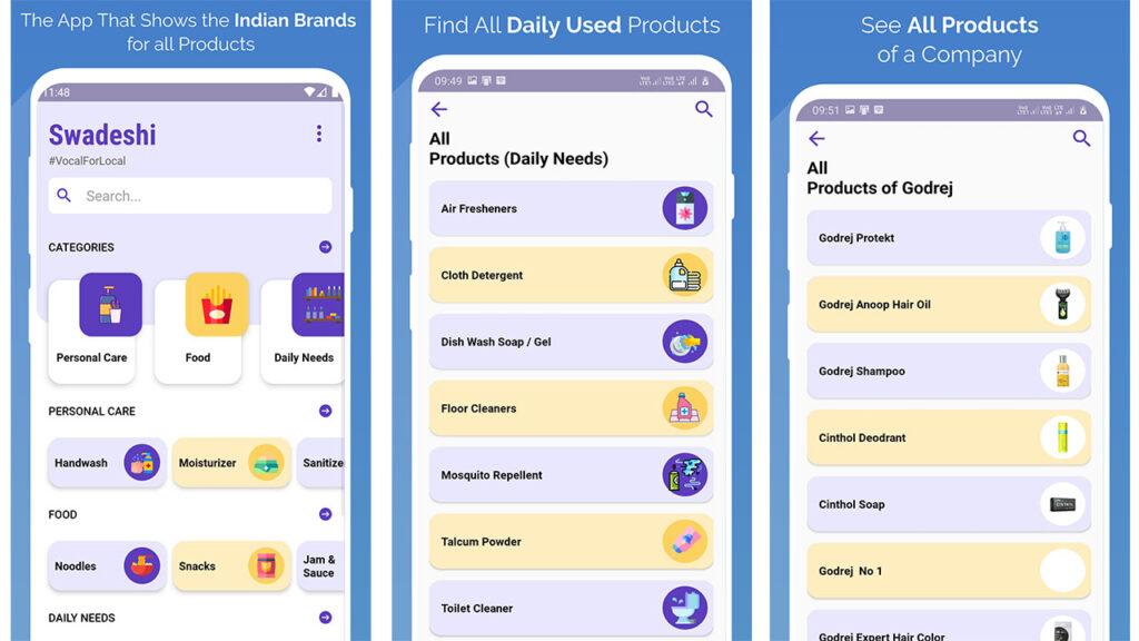 swadeshi app download playstore