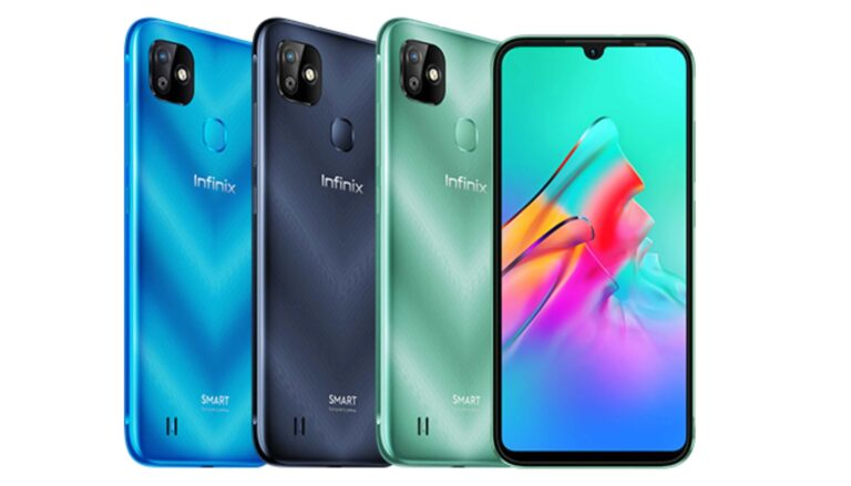 This is the picture of the Phone launched by Infinix, the Smart HD 2021
