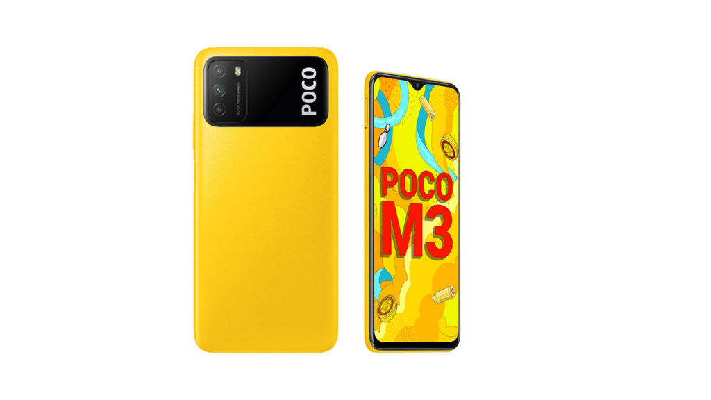 poco m3 hd pictures yellow
