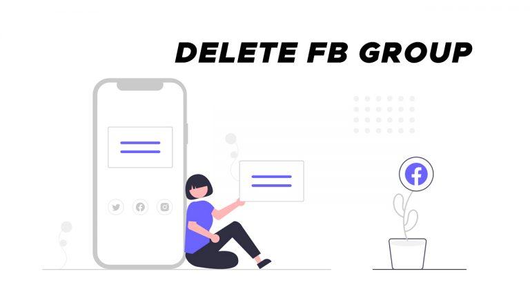 delete facebook group permanently as an admin